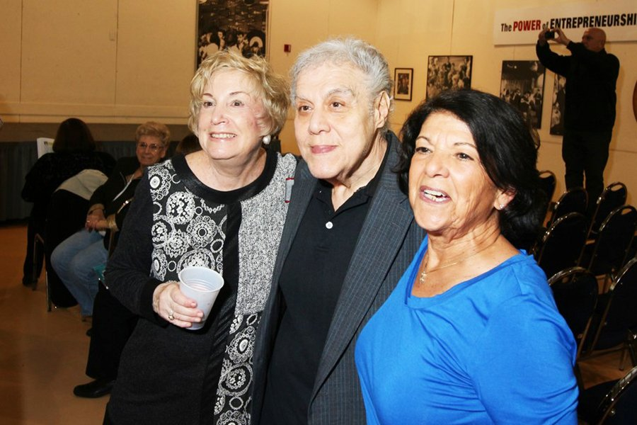 Sharon Sultan Cutler, Richard Spada (Carole Scaldiferri's husband) and Betty Romantini